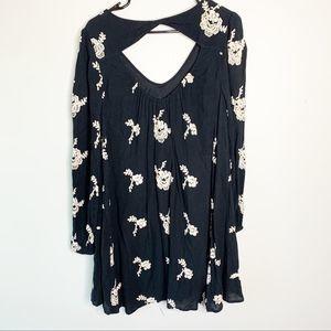 Free People boho floral Dress Size S petite